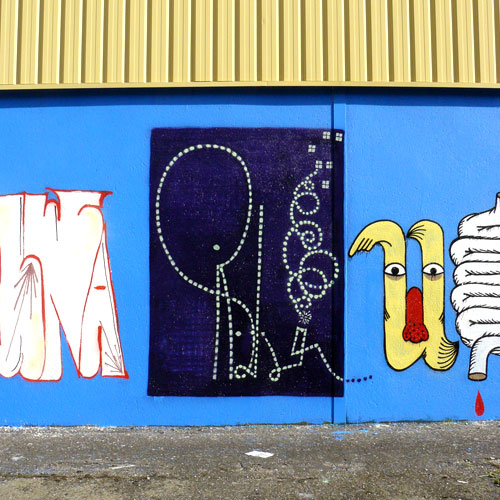 Tags et graffitis, street art, banksy... - Page 2 Gothflop4