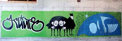 Tags et graffitis, street art, banksy... - Page 2 Soferti4